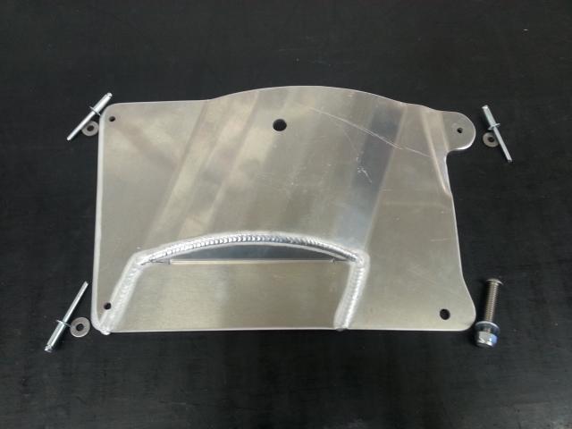 2013-2015 Pro-Ride Belt Drive Skid Plate