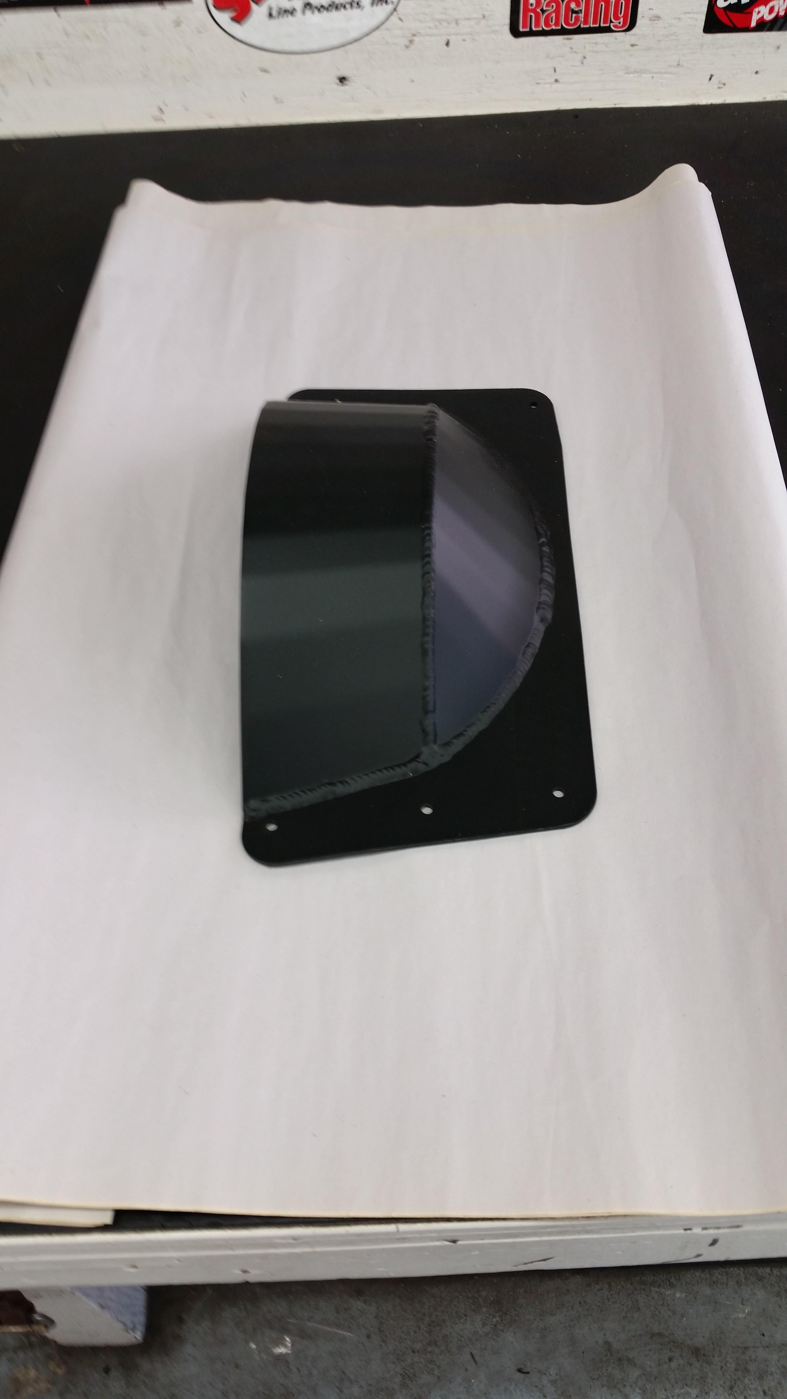 2016 Axys Pro Belt Drive Skid Plate - BLACK